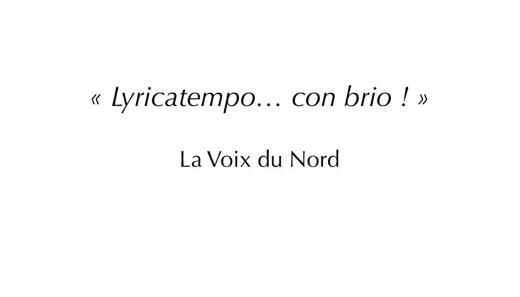 lyricatempo